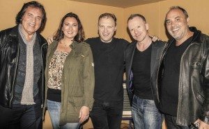 Engelbert Humperdinck, Louise, Jon, Simon Britton & Scott in the Studio Colour