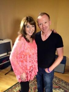 Jane McDonald & Simon Britton at Sensible Studios 1