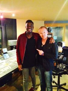 Jermain Jackman & Simon Britton in the Studio 1