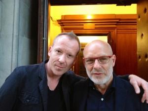 Simon Britton & Brian Eno 1